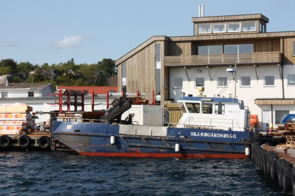 Skjærgårdsbygg båt