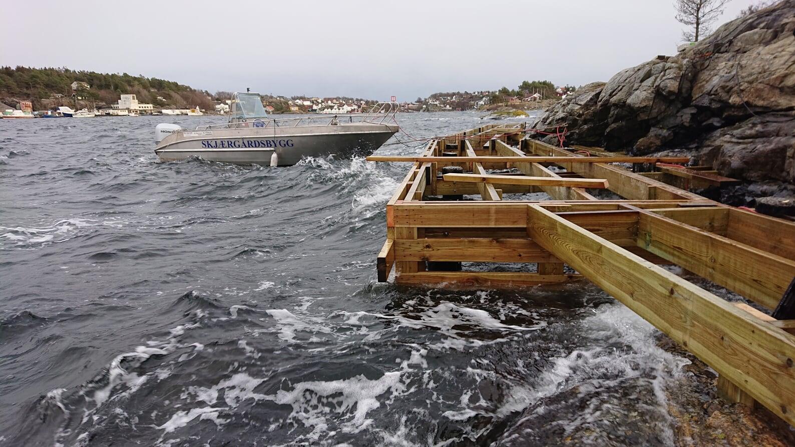 """Bilde for """"Ny brygge for allmennheten på Gammeløya"""""""